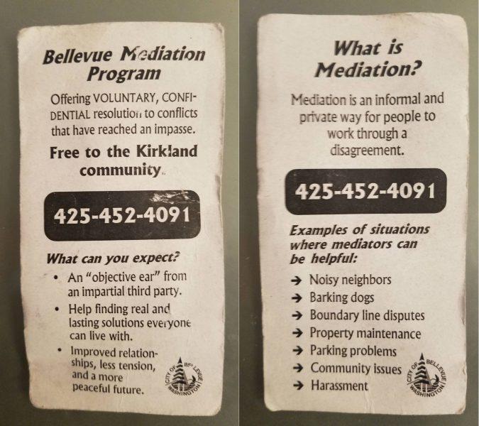 Bellevue Mediation Program USA