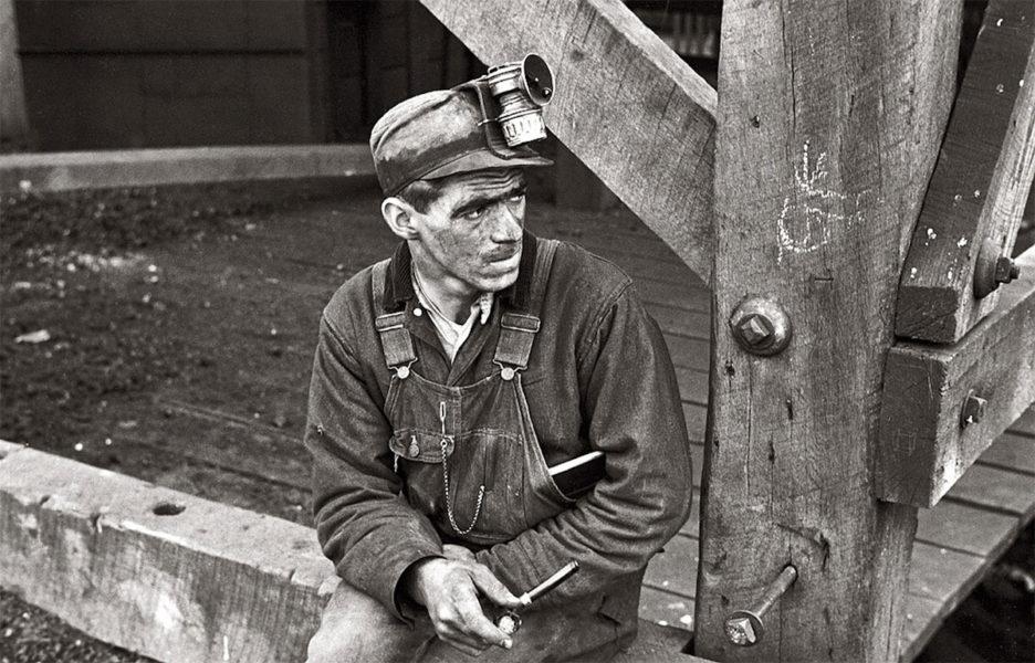 Американский шахтёр 1920-х
