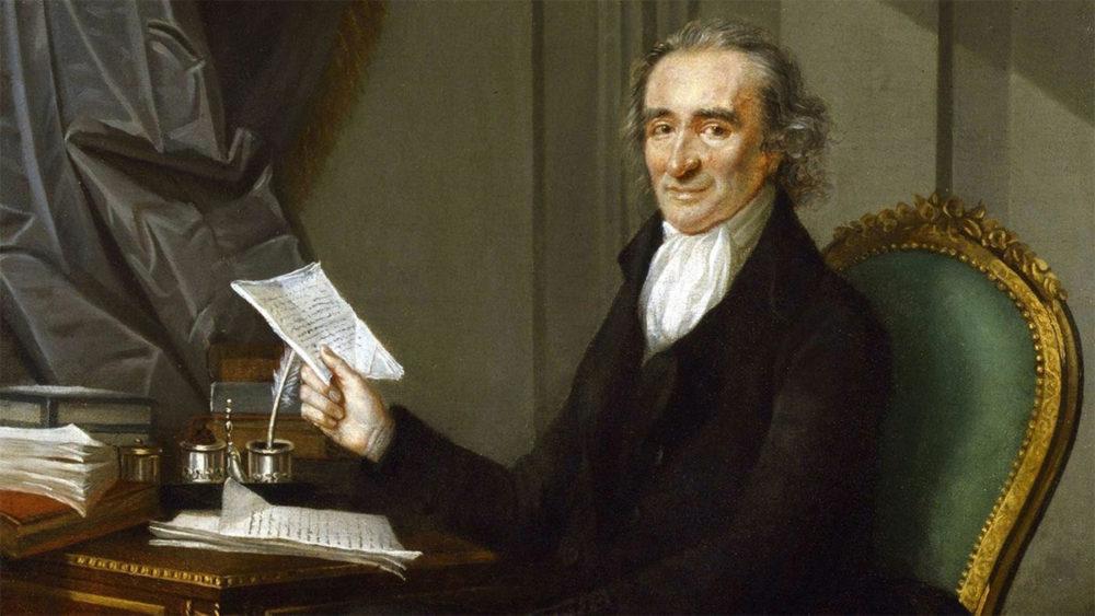 Американский философ и публицист Томас Пейн