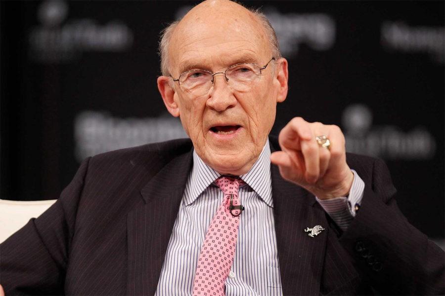 Сенатор Алан Симпсон смотрит на вас как на «алчного хрыча»